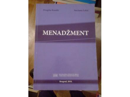 Menadžment - Ranđić Lekić