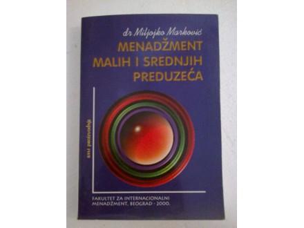 Menadžment malih i srednjih preduzeća - Marković
