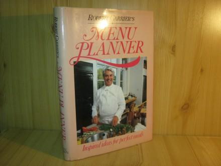 Menu planner - Robert Carrier`s