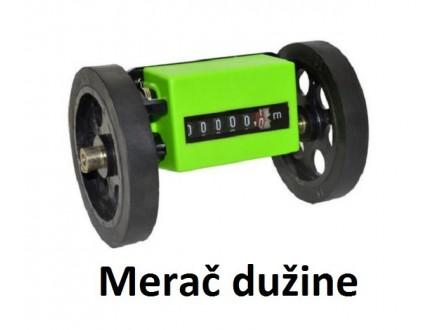Merac duzine - Merni tocak sa brojacem u metrima