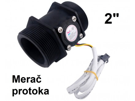 Merac protoka vode 10-200 L/min - 2``