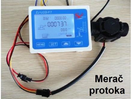Merac protoka vode sa senzorom i 12V izlazom za rele