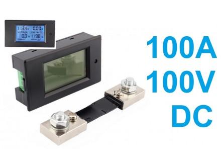 Merac snage, energije, napona i struje - 100A - DC