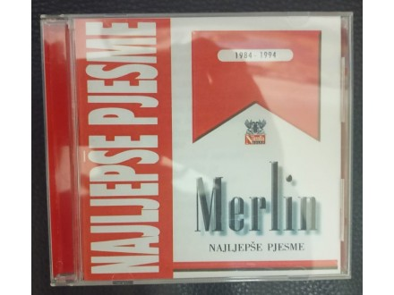 Merlin – Najljepše Pjesme 1984 – 1994 CD (MINT,1997)