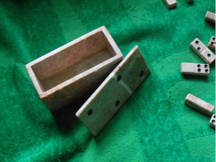 Mermerne domine/ručni rad-Marble dominoes / handicrafts