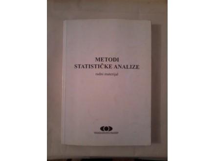 Metodi statičke analize - radni materijal