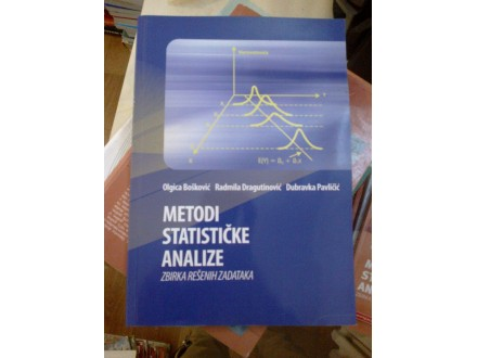 Metodi statističke analize - Bošković; Dragutinović;