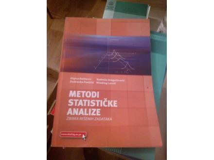 Metodi statističke analize - Bošković, Dragutinović