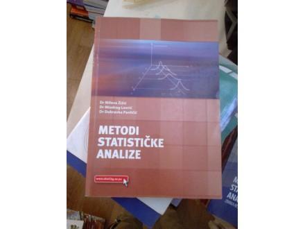 Metodi statističke analize - Žižić; Lovrić; Pavličić