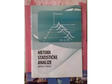 Metodi statističke analize obrasci i tablice
