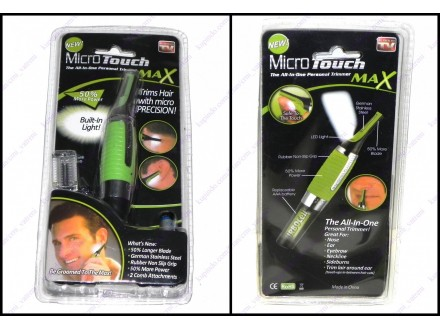 Micro touch MAX fini trimer sa svetlom
