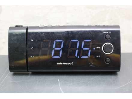 Microspot FM / Clock / Alarm player