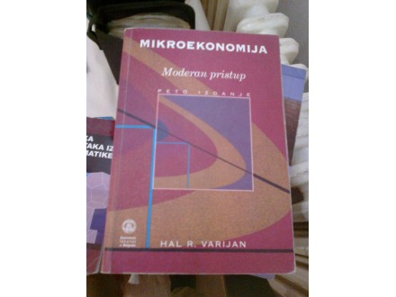 Mikroekonomija - Hal R. Varijan