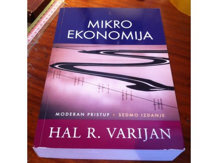 Mikroekonomija moderan pristup Hal R. Varijan