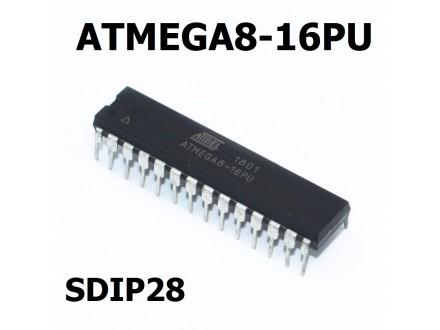 Mikrokontroler ATMEGA8-16PU