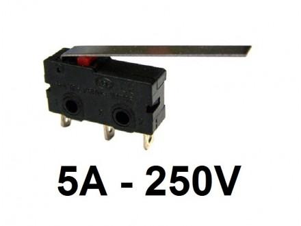 Mikroprekidac sa polugom 5A 250V