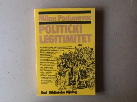 Milan Podunavac  - POLITIČKI LEGITIMITET