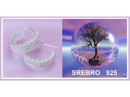 Mindjuse SREBRO 925 - E082