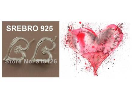 Mindjuse SREBRO 925 - GY-PE332
