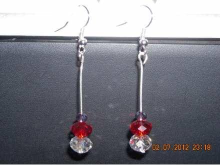 Minđuše sa Swarovsky kristalima 3