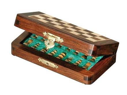 Mini putni šahovski set