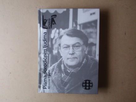 Miroslav Egerić - PISMA PORODIČNIM LJUDIMA