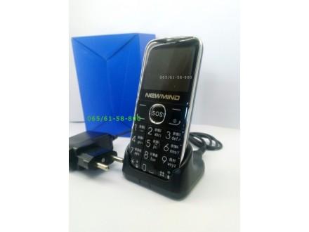 Mobilni telefon-NewMinde L6-Velika slova i brojevi