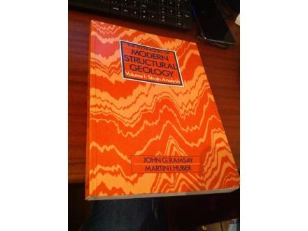 Moderna strukturalna geologija na engleskom
