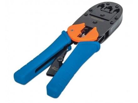 Modular Plug Crimping Tool universal RJ11/RJ12/RJ45 Blister