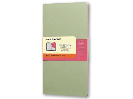 Moleskine - Chapters Journal, Mist Green, Medium