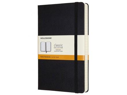 Moleskine, - Classic Expanded Ruled Paper Notebook, Color Black - Moleskine
