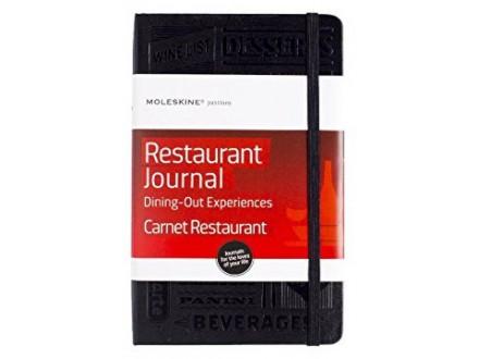 Moleskine Passion Journal Restaurant Dining Out Experiences - Moleskine