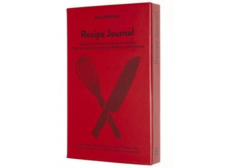 Moleskine - Recipe Journal, Theme Notebook - Moleskine