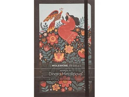 Moleskine Studio Collection Notebook, Lined Paper Notebook, Artist Dinara Mirtalipova - Moleskine