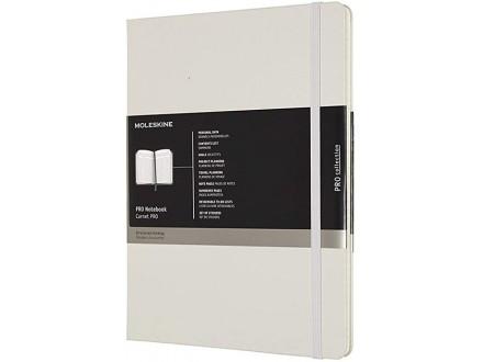 Moleskine X-Large Pro Hard Notebook - Pearl Grey - Moleskine