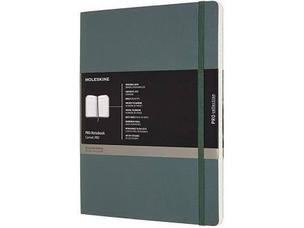 Moleskine X-Large Pro Soft Notebook - Forset Green - Moleskine