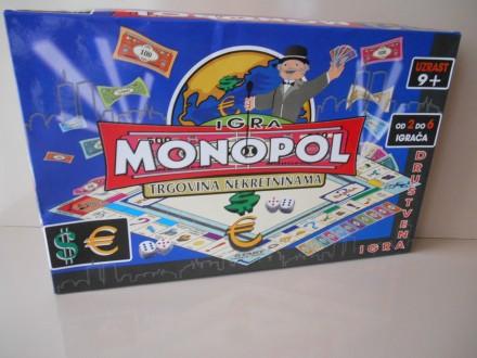 Monopol Drustvena Igra Na Srpskom, NOVO
