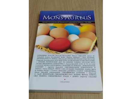 Mons aureus broj 51