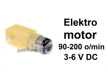 Motor sa reduktorom 1:48 - 3-6V - 90-200RPM