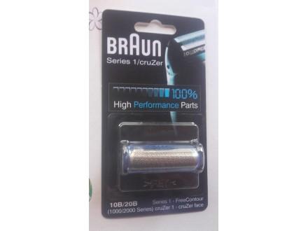 Mrežica za brijanje 10/B-20/B-Braun komplet-Akcija!