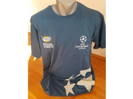 Muska majica. L velicina. Plava boja. 100% pamuk.