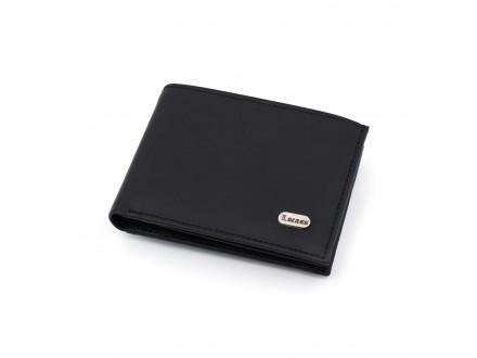 Muški kožni novčanik - Model 129 Crni