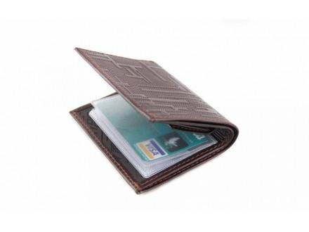 Muški novčanik od prirodne kože, ručni rad, artikal 306