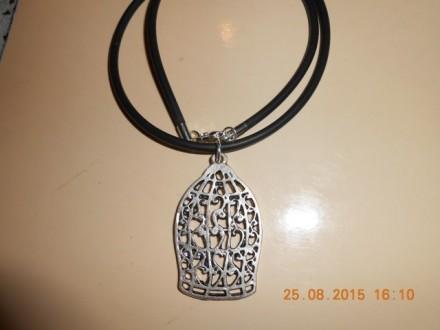 Muško-ženska ogrlica Krletka za retke ptice