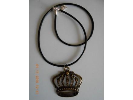 Muško-ženska ogrlica kruna