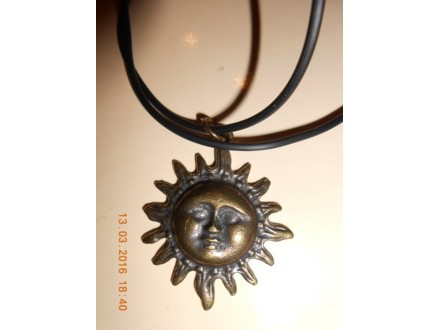 Muško-ženska ogrlica veliko Sunce