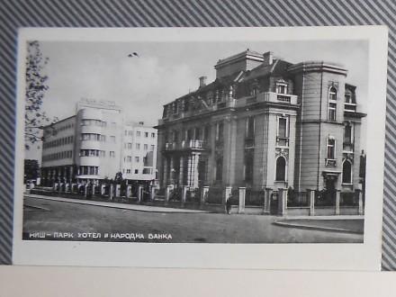 N  I  Š -HOTEL PARK I NARODNA BANKA1930-1940 (V-21)