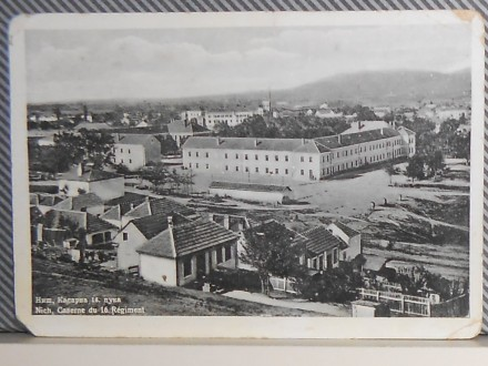 N  I  Š- KASARNA 16. PUKA -1930-1940   ( V-02)