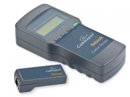 NCT-3 Gembird Digital network cable tester. Suitable for Cat 5E, 6E, coaxial, and telephone cable