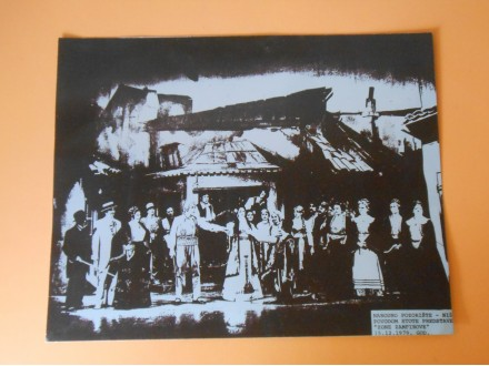 NIŠ Narodno Pozorište  100 predstava`Zone Zamfirove`79g